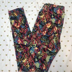 🆕 LuLaRoe Paisley Leggings OS one Size